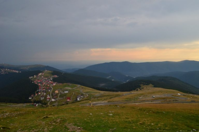 Looking over Ranca